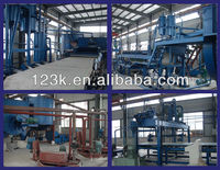 SMW series Fiber cement roof sheet making machine