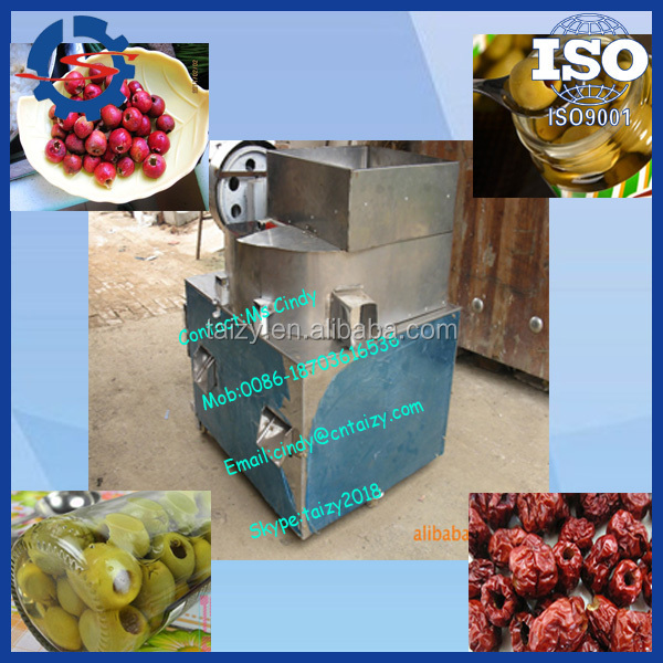 Most popular olive pitting machine/olive pitter/olive seeds removing machine //mob;0086-15838061759
