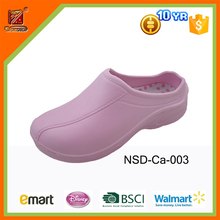 2016 fashion design cheap eva rubber nurse hospital medical clogs