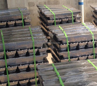 Factory supply bulk remelted lead ingot 99.99%