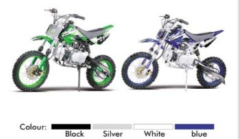 off road 125cc four stroke dirt bike with best selling
