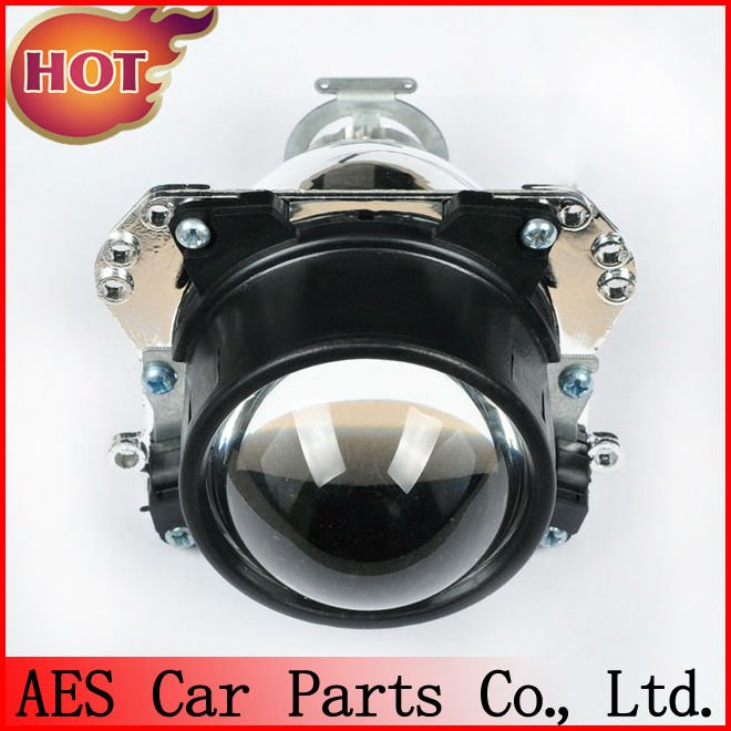 AES Hot sale Auto headlight HID bi-xenon projector lens, xenon bulb h1