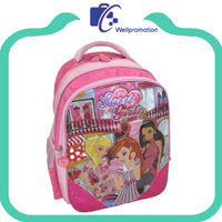 New design cute kids school backpack with printing