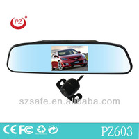 4.3inch rearview mirror car gps with camera universal for all cars