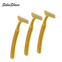 Stainless Steel Blade Safety Razor Manufacturers For Smooth Rubber Handle