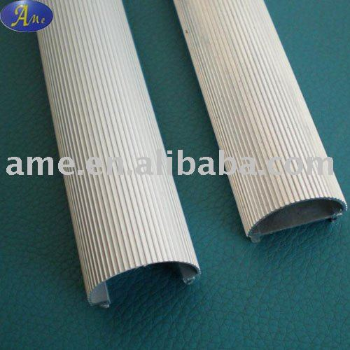 Aluminum extrusion profile T8 LED tube heatsink