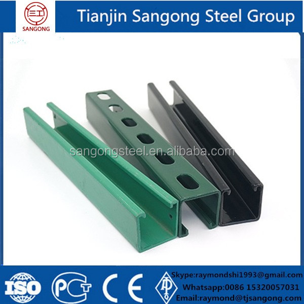 Q235 Carbon Steel Channel For Building <strong>U</strong> and C Shape
