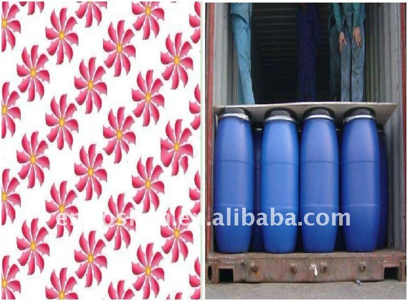 (YIMEI) acrylic polymer textile agent for textile printing mix binder,soft agent,pigment paste