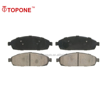 D1181 brake pad kit for JEEP Front Axle GDB4136 24250 semi metal break pad