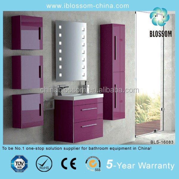 ceramic basin bathroom furniture set
