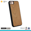 For iPhone 7 cherry wooden case Shockproof TPU Case for iPhone 7