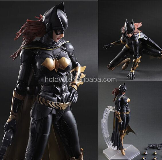 Gzltf Play Arts Kai Batman v Superman Dawn of Justice BATMAN BATWOMAN Batgirl kai Action Figure