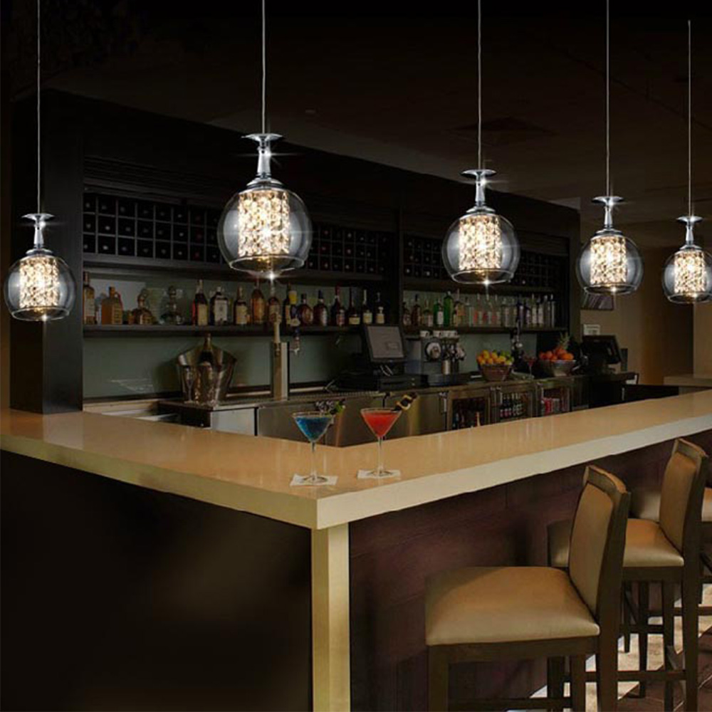 Shanghai Glass Pendant Light Modern Chandelier Lamp for Home Lighting