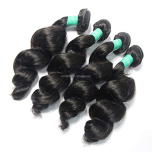 100% human unprocessed virgin hair free sample loose virgin hair weave wholesale price wave hair extension