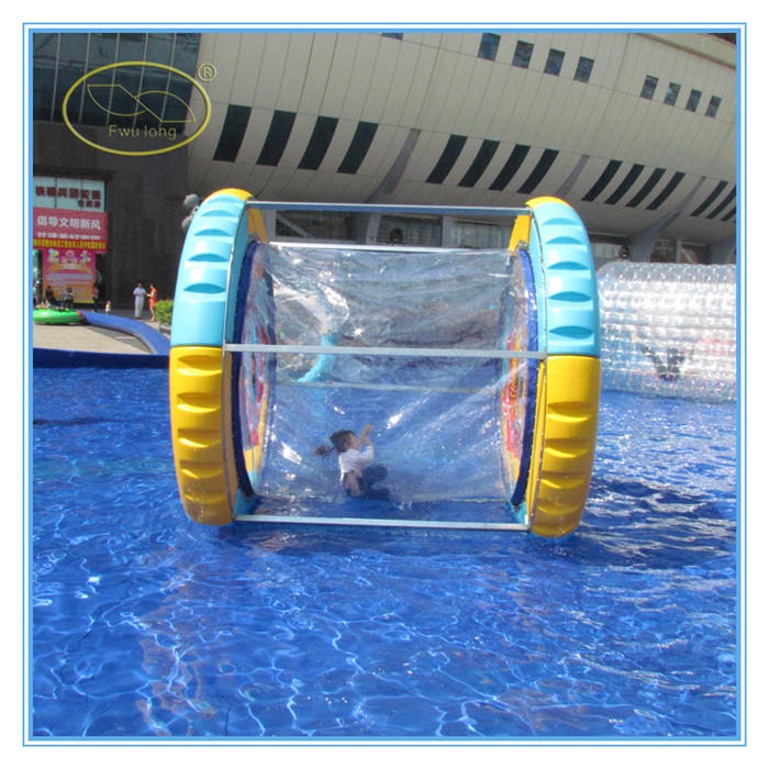 Water inflatable hamster wheel,wonder wheel toy inflatable ,inflatable hamster ball