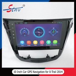 Quad-core gps navigation for X-Trail 2014 with DVD/VCD/MP3/MP4 Player