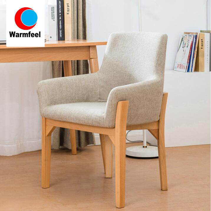 Modern Leisure Fabric <strong>Chair</strong> in European Style for Dining Room Guest Room Reading Room