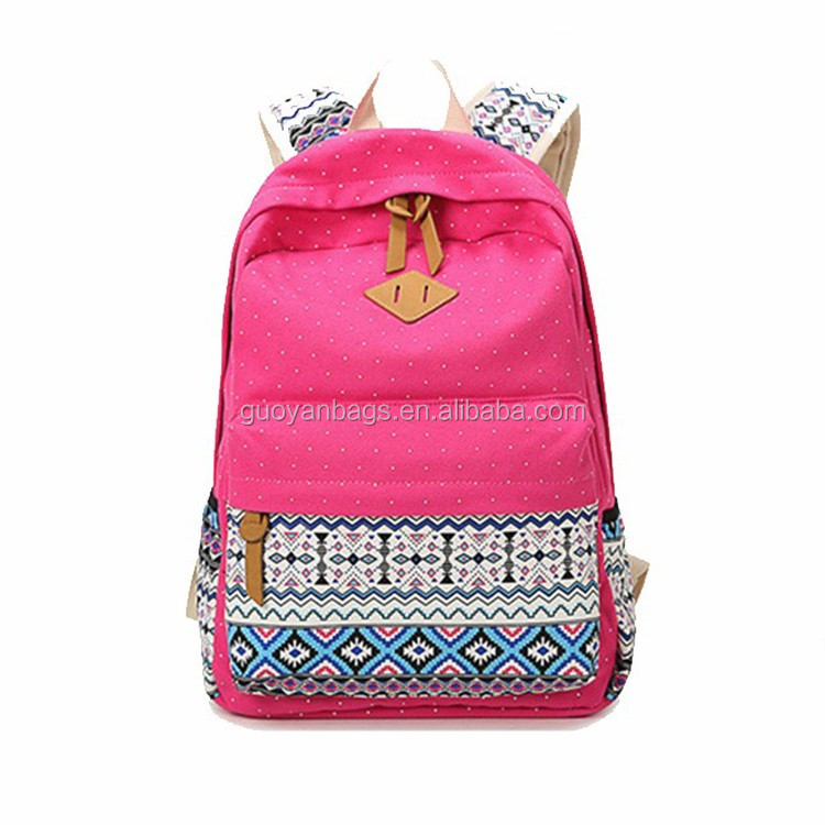 Guangzhou Supplier Modern Japanese Style Fashion Backpack Practical