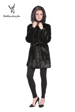 Cultivate one's morality fashion women sable coat