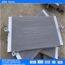 Professional made SY55C-9 hydraulic oil cooler radiator with fan