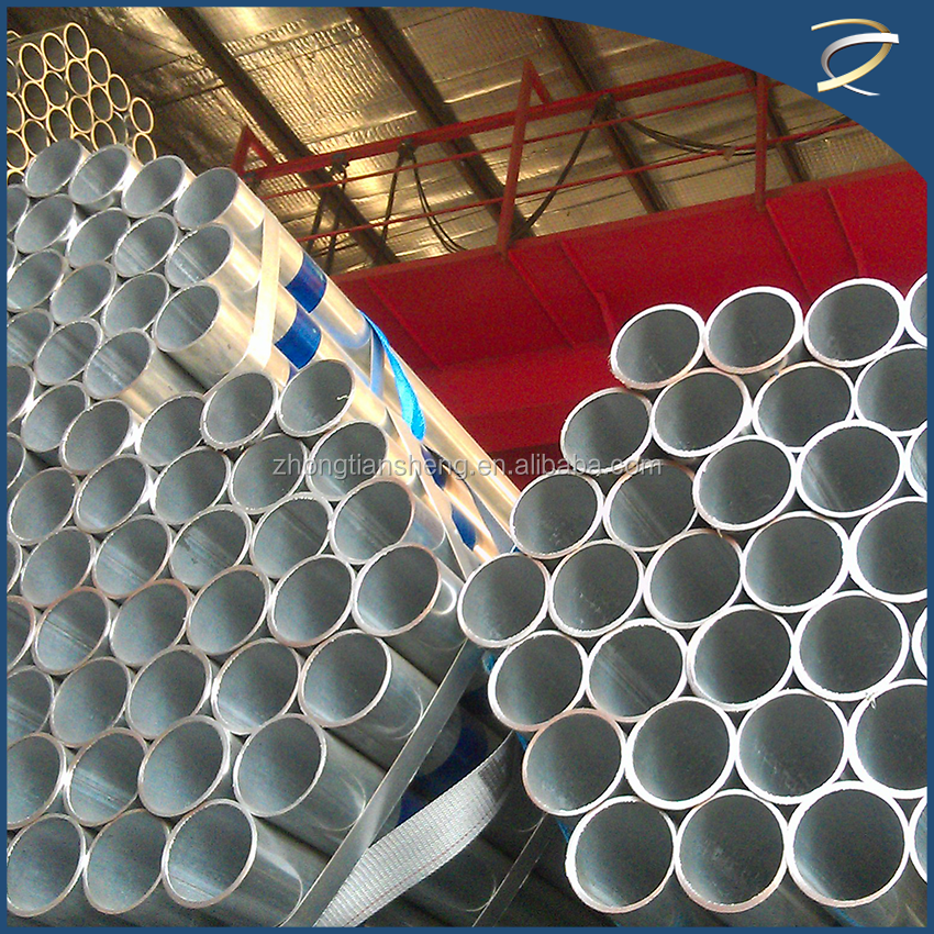 best selling strong and economical thin wall galvanized steel pipe / pipe scaffolding / longitudinal welded pipe
