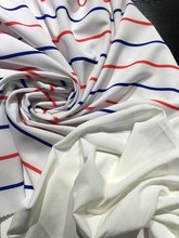 OEM accepted polyester spandex pongee fabric for t-shirt stretch fabric for Trousers