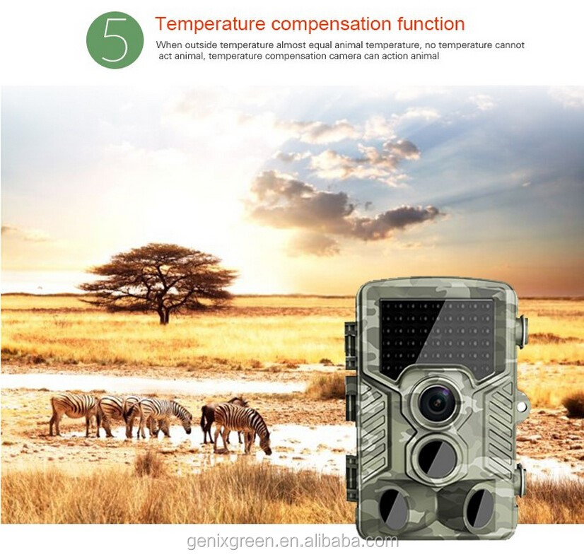 Quality infrared night vsion 1080P 12MP game hunting camera low glow waterproof trail camera