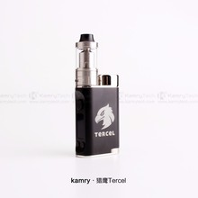 Lattest coming Kamry 2.0 tank e-cigarette mechanical mod Kamry Tercel 70w TC vape box mod cigarette tubes