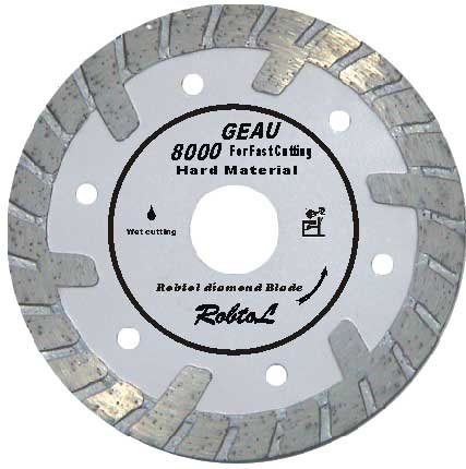 Deep Tooth Turbo Diamond Blade for Fast Cutting Hard And Dense Material-Lucy song