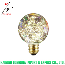 E27 G95 String bulb led fairy light for christmas decoration