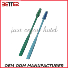 PP material plastic handle soft bristle toothbrush