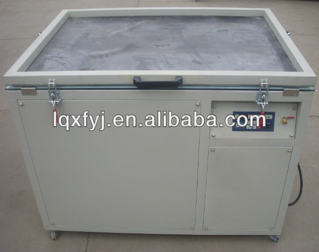 vacuum exposure unit for screen printing