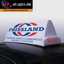 Africa cab signal roof light box for advertising