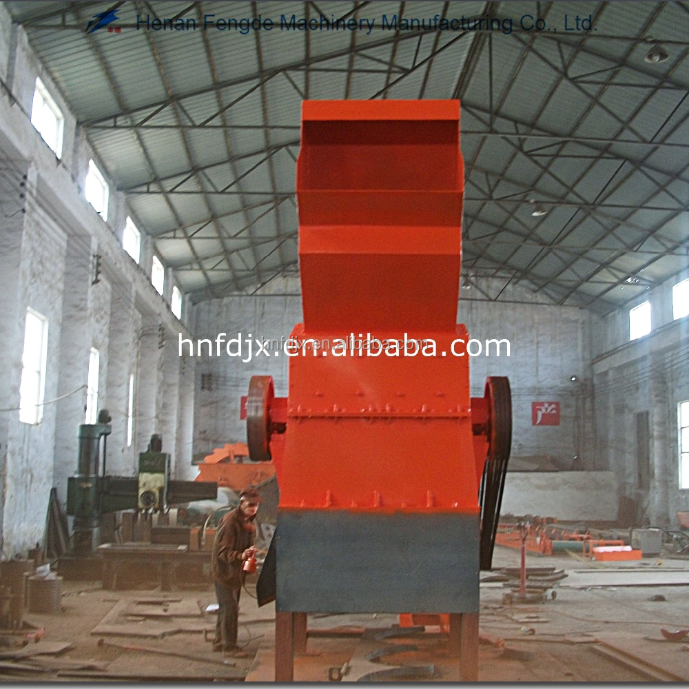 Metal scrap shredder, metal grinding mill crusher