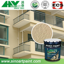 low cost and high quality stone effect lacquer paint for exterior walls of building