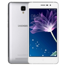 Dropshipping Cheap phone DOOGEE X10 with MTK6570 Quad Core up to 1.3GHz, WiFi, OTA, GPS 5.0 inch Android 6.0 smartphone
