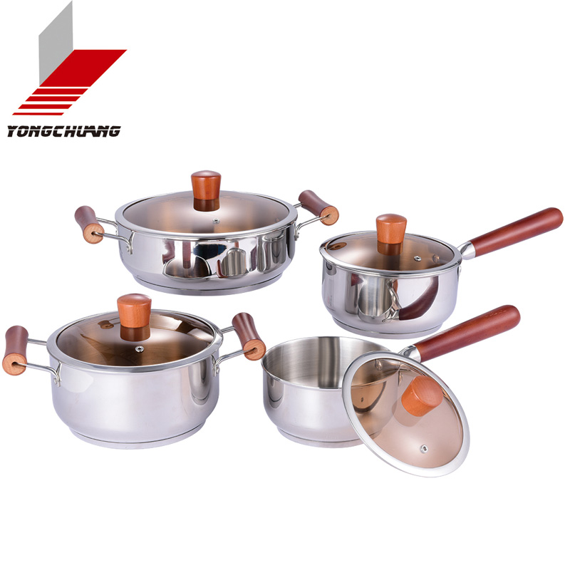 Professional Manufacturer stainless steel belly stock pot cookware