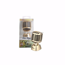 Airpro Brand Mic Man Car Air Freshener, Including 10ml Gold Bless Scent Liquid Refill, Bulk Car Air Fresheners
