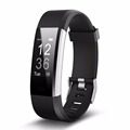 Waterproof smart fit bit band optical heart rate monitor wristband smart movement healthy bracelet