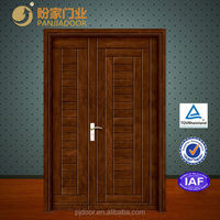 modern wooden double door design-wpj-14-257