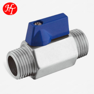 full bore electric mini ball valve with actuator for agricultural water conservation and water-saving irrigation system