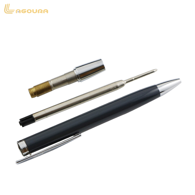 Eco-Friendly Metal Mini Ballpoint Pen With Crystal Head bestselling Metal ballpoint pen