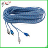 Pure copper,different uses,PVC insulated,2R RCA Cable from Haiyan Huxi