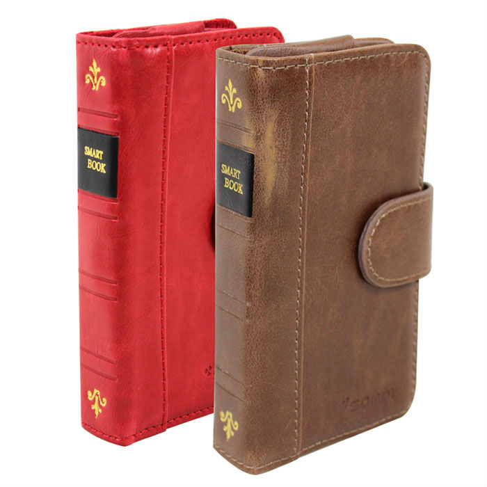 Luxury Leather Wallet Case for Iphone/Samsung/others