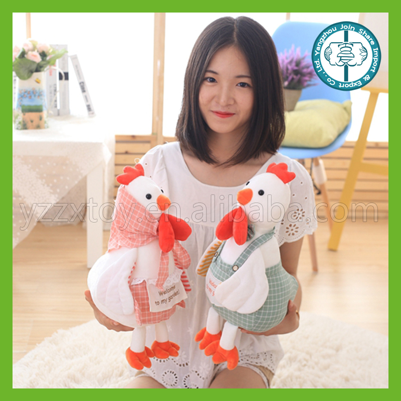lovely plush little chicken toy China wholesale promotional stuffed soft animal toy