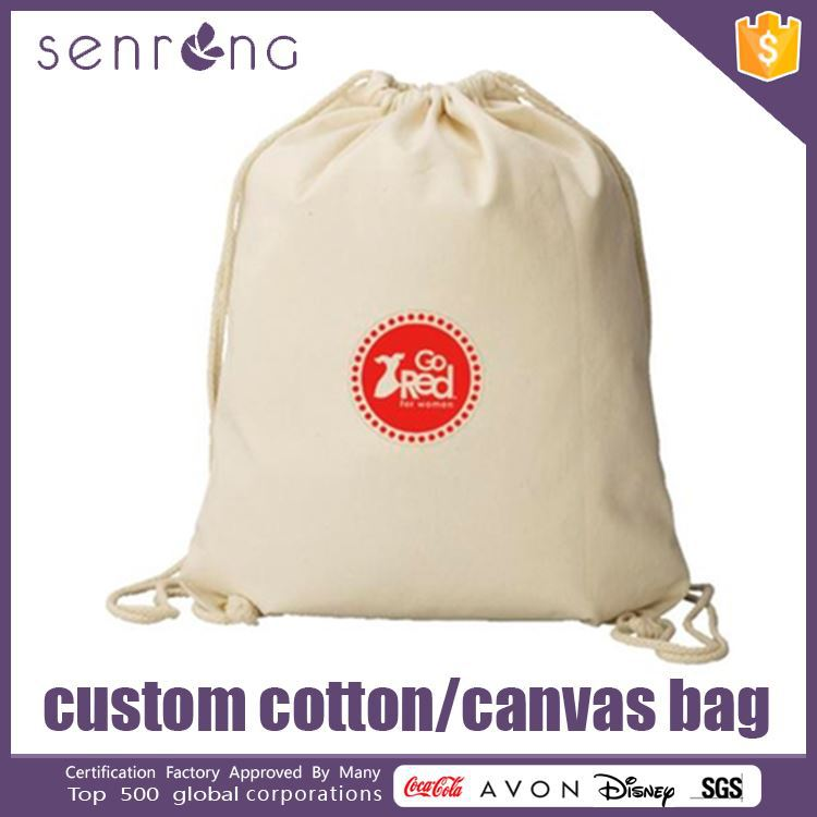 Printable Canvas Cotton Bags Canvas Retail Bag