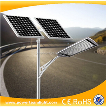 6 years warranty UL DLC Led Parking Lot Solar Street Light