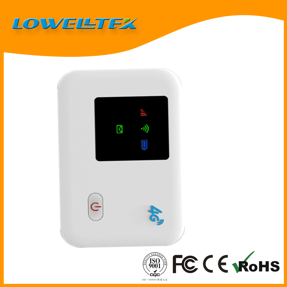 Good Looking Mini 3G 4G Pocket Wifi Router for Outdoors Up to 8 WIFI users