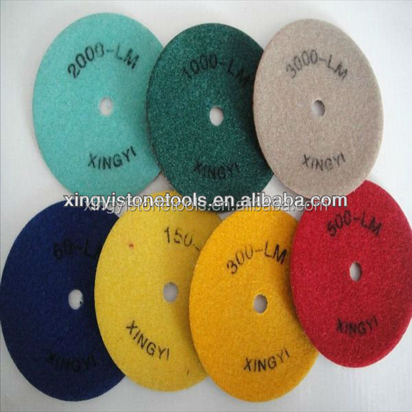 Diamond Floor Polishing Pads Abrasives