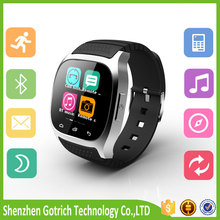2016 new digital sport wrist brand android bluetooth fashion women men m26 smart watch ios phone